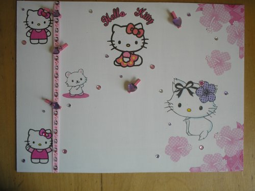 "Pêle-mêle ""Hello Kitty"""