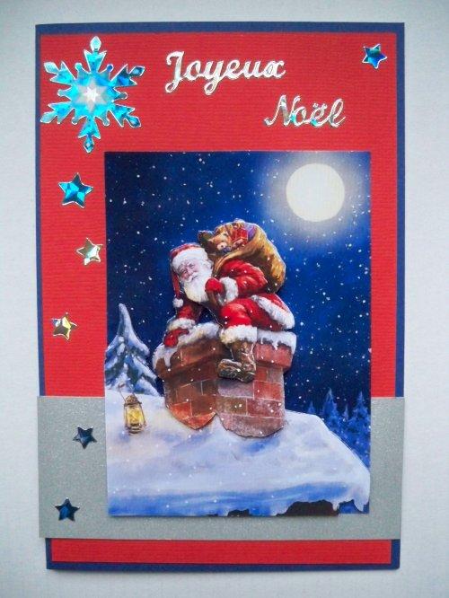 """Carte 3D """"Père Noël"""""""