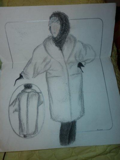 voici mes dessin de mode