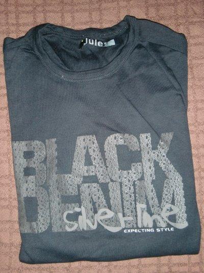 Jules Taille L black denim