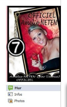 Facebook Officiel d'Amélie Neten