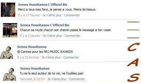 Facebook Officiel de Senna Hounhanou