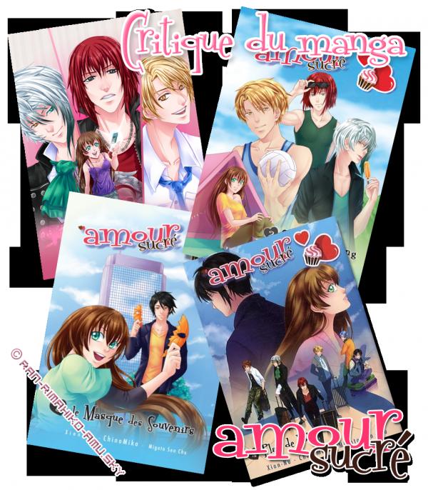 Amour Sucré Manga - Critiques