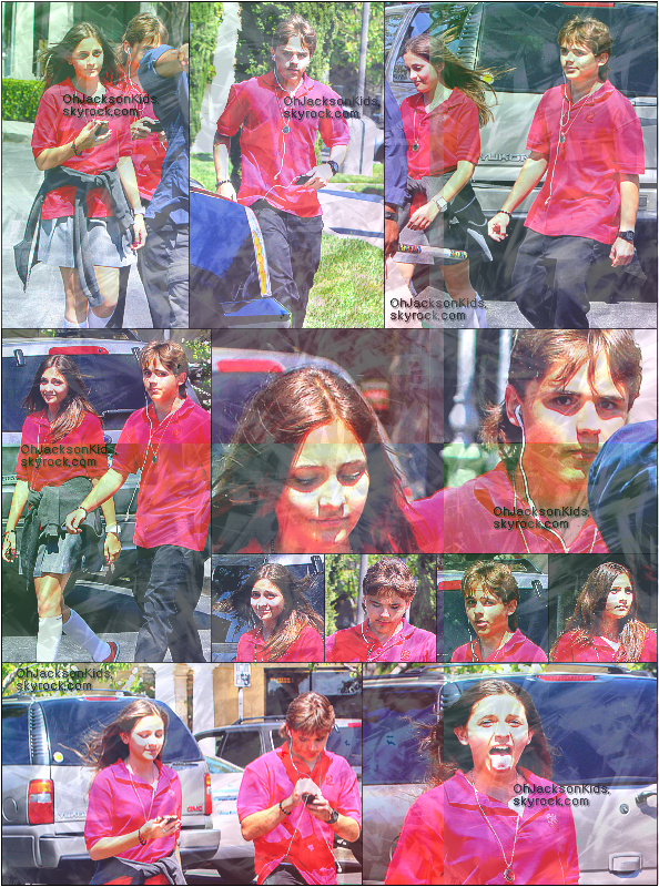 Candids|Paparazzi photos-   Paris and Prince Jackson Leave acting class- 31st May 2011