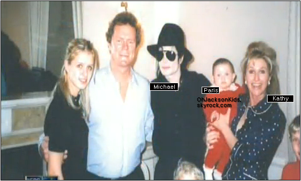 Exclusive|Personal Photos-    Michael and Paris Jackson with Kathy Hilton.