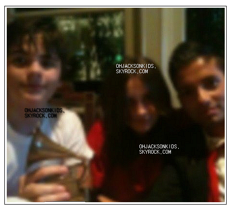 exclusive personal pictures-  Prince &+ Paris Jackson with Omer Bhatti.