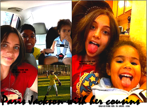 Exclusive|Personal pictures-  Paris and her cousins DeeDee and Royal.