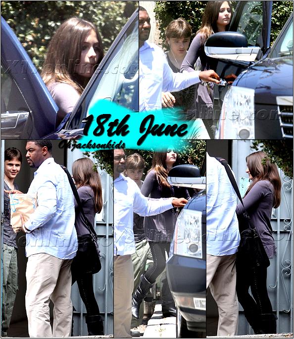 More 18th June 2011 photos:  Paris & Prince
