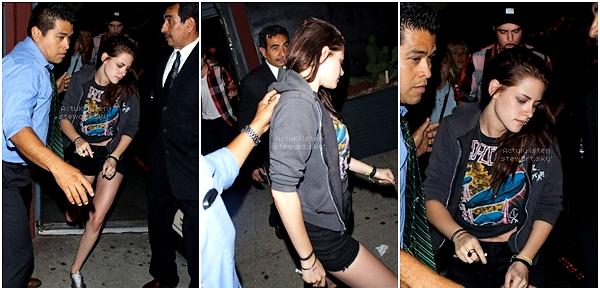 Le 21.06.2012 : Kristen et Robert ont été entrevus sortant d'un club à Los-Angeles(retrouvailles !).