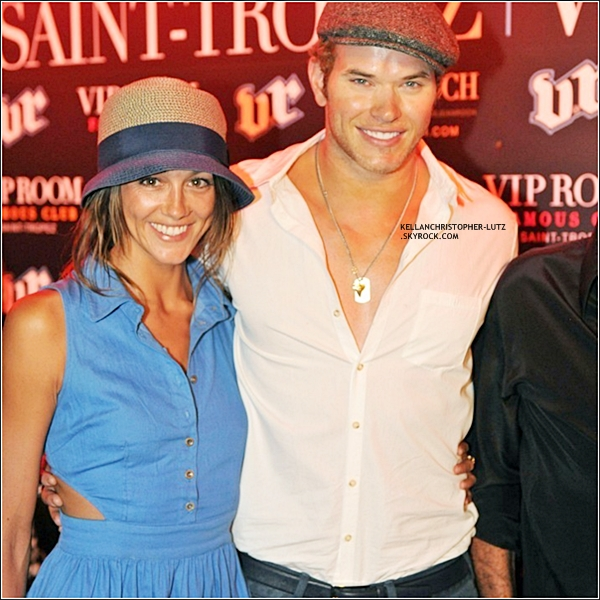 .  26.07.2012 l Kellan et sa petite amie du moment Sharni Vinson, étaient au VIP Room Nightclub. + TOP, BOF, FLOP ? .