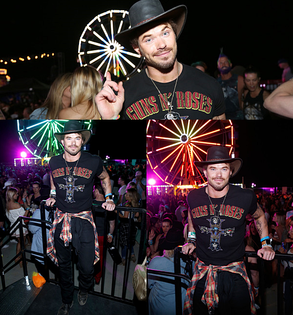 .  16.04.2016 l Kellan au festival de Coachella à Thermal, Californie. + TOP, BOF, FLOP ? .