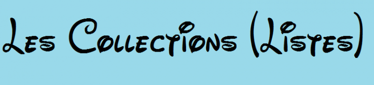 Les Collections (Listes)