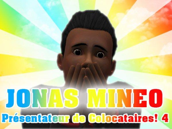 Jonas Mineo: NOUVEAU PRESENTATEUR