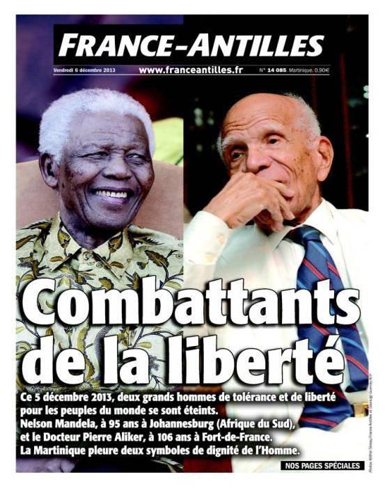 Nelson Mandela  et Pierre Aliker