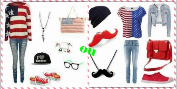 Mode Usa / Lequel préférez-vous?