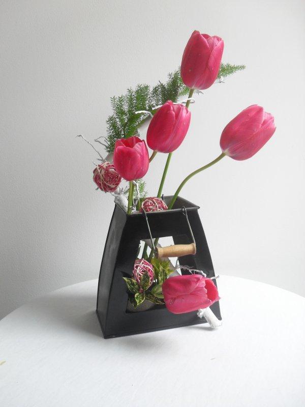 dernières tulipes du jardin