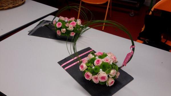 bouquet sur ardoise art floral. Black Bedroom Furniture Sets. Home Design Ideas