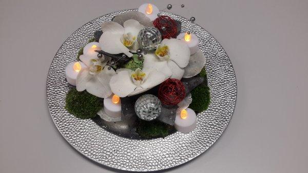 assiettes de Noël
