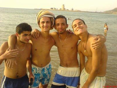 Hichem,moi,Amir,Michou
