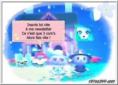 ◣◥ Inscription à ma newsletter ◤◢