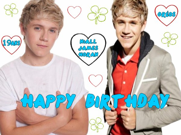 Happy birthday Niallou ♥