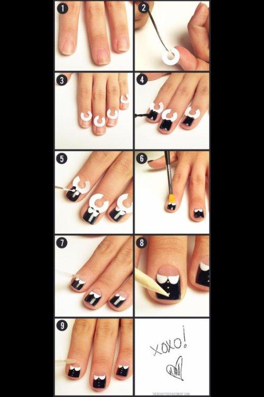 Nail art costard !!