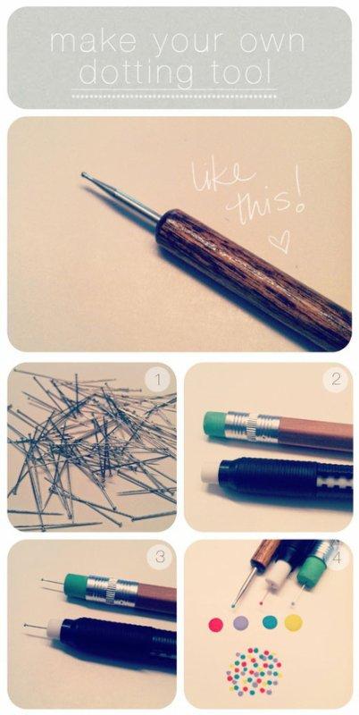 Fabriquer votre propre dotting-tool ! :3