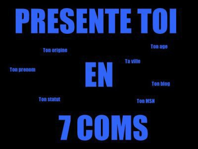 Presente T0i En 7 C0ms