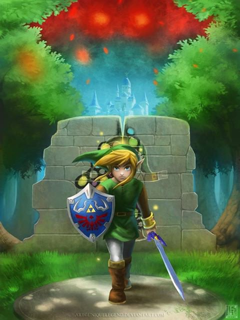 Zelda A Link Between Worlds.
