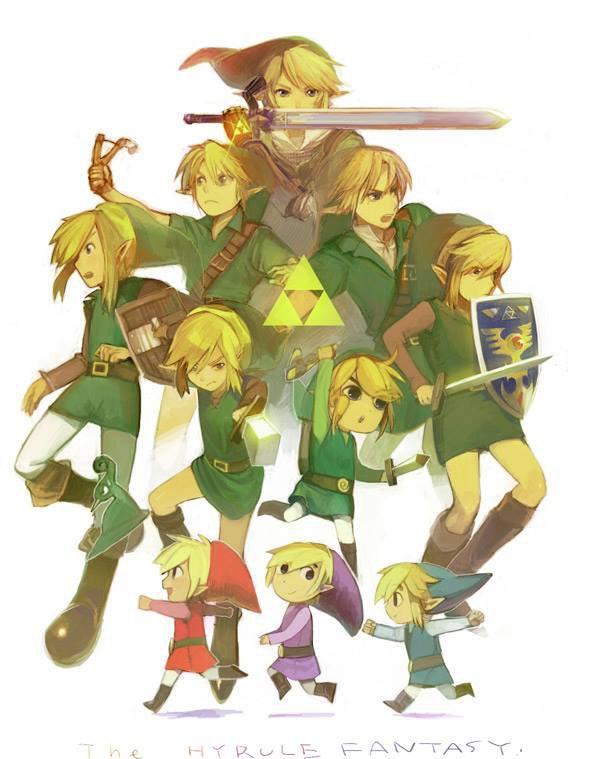 L'histoire de Zelda