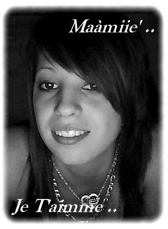 C'est La Seule Persone Pour Qui Je me Bats & Que De L'àhaut Elle Soi Fiert De Moi .. ♥♥                   #__Mààriie*'.xlL'