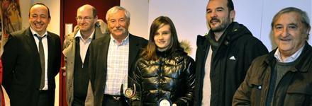 Candice Gherbi récompensée