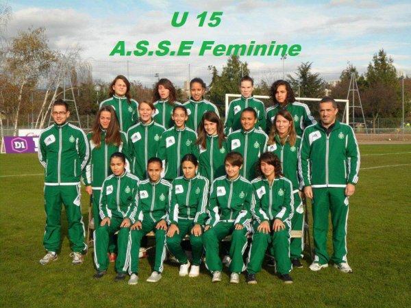 U15 : ASSE 0-4 OL