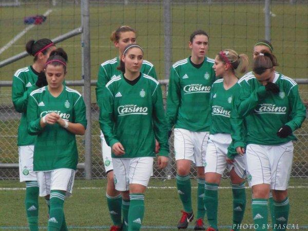 D1F : Toulouse FC 1-0 AS Saint-Etienne.