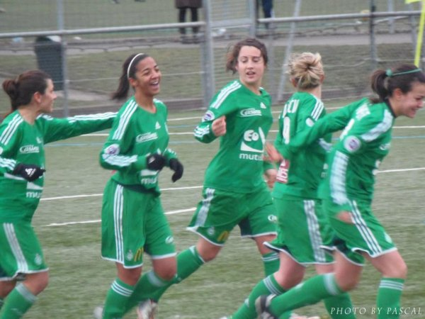 ASSE 2-0 Issy en photos