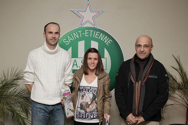 Amandine Soulard joueuse du Trimestre en Photo (ASSE.fr)