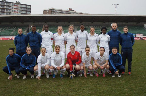 Second tour qualificatif Euro 2013 avec Charlotte Lorgeré - France 2-0 Belgique