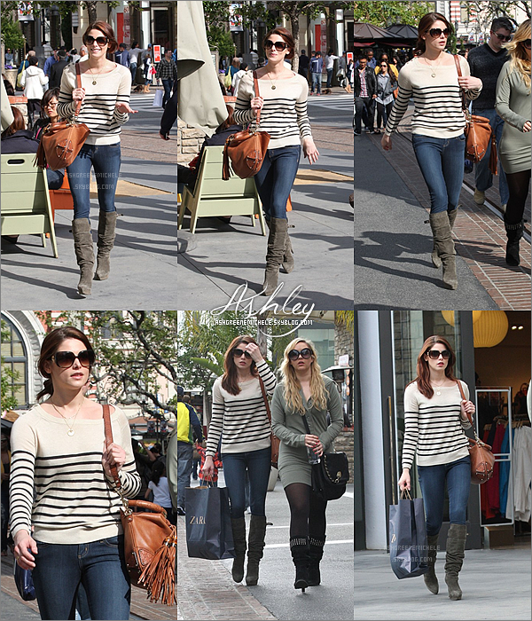 .  9 avril 2011 » Ashley est de retour ! Elle a été aperçu dans West Hollywood faisant du shopping ! .  Top ou Flop ?  .