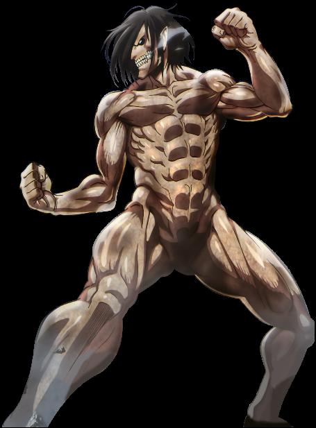 Titan Furtif. Eren Jäger