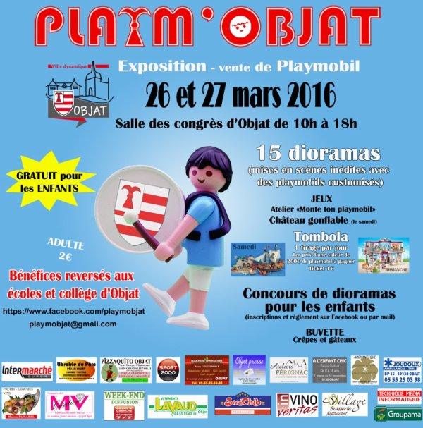 Exposition Playmobil à Objat