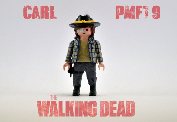 The Walking Dead : Carl