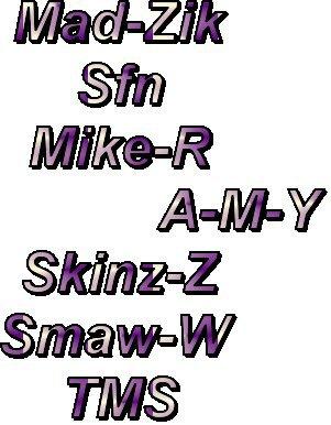 A-M-Y crew
