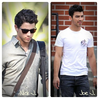 Nick  Jonas       ________________________ Joe Jonas