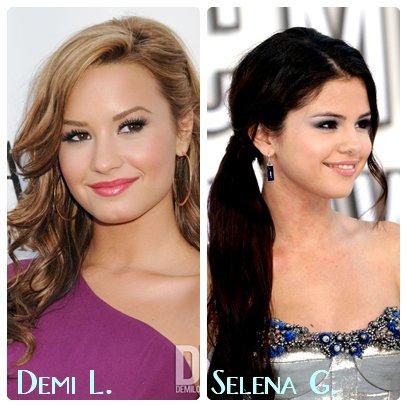 Demi Lovato       ________________________ Selena Gomez