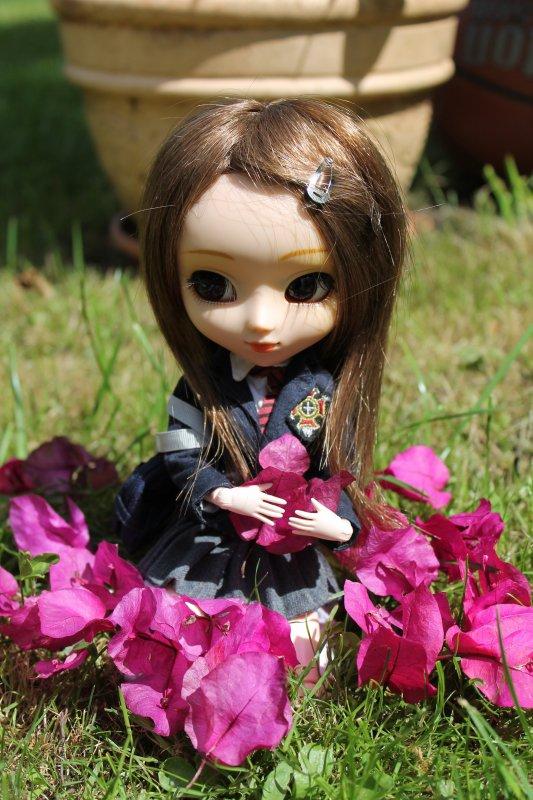 séance photo de Nina dans le Jardin