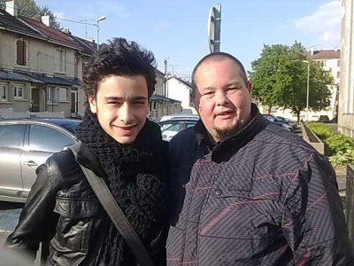 Avec Sacha Tran