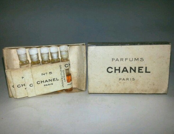 1920's Chanel No.5 Samples