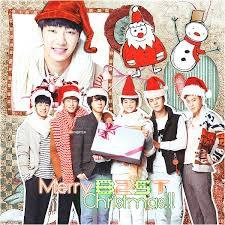 B2ST et MOI vous souhaitons un bon reveillon et un joyeux Noël ! ❤😘