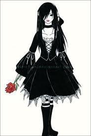 voilà un style que j'aime beaucoup, le style gothique lolita