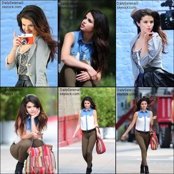 "Quelques photos du photoshoot de Selena pour sa collection ""Dream Out Loud """